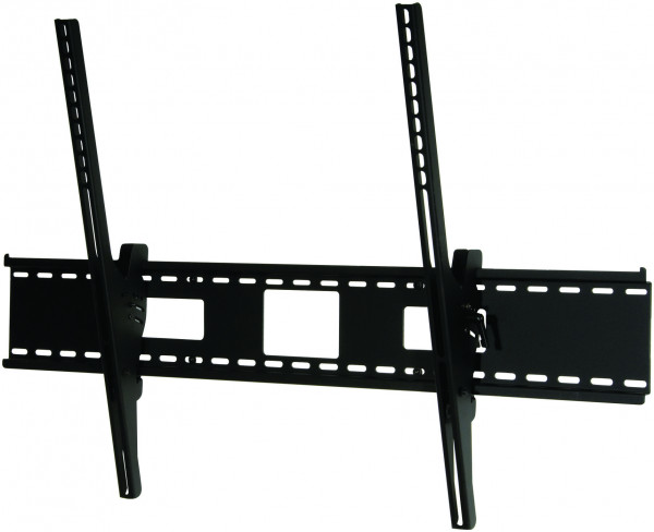 "Peerless PerfectMount Tilting Wall Mount for 60"" to 95"" left side view tilt"